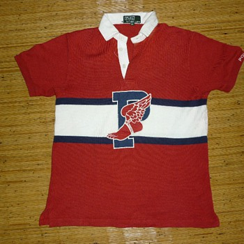 RARE VTG POLO RALPH LAUREN P WING RUGBY SHIRT - Mens Clothing