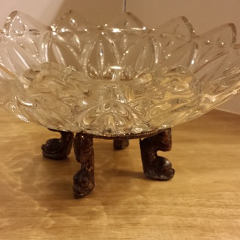 Crystal candy dish - Glassware