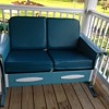 Early Mid Century Porch Glider