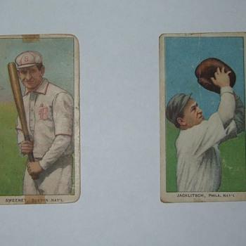 1910 T206 baseball cards