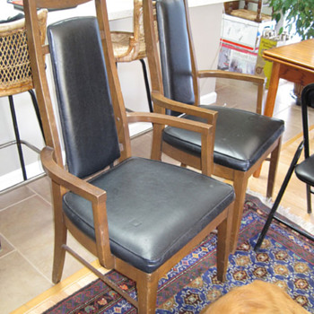 Are these chairs Mid Century and can anyone tell me what they might be worth? - Mid-Century Modern