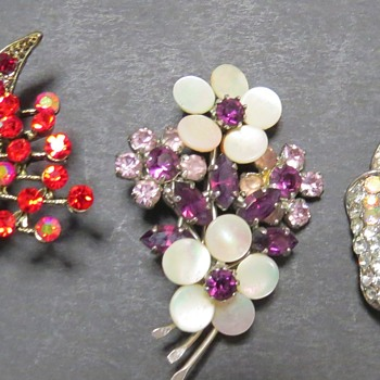 Modern and Vintage Brooches - Costume Jewelry