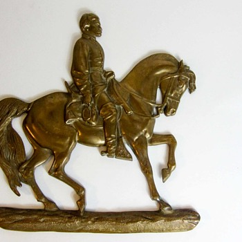 Bas-relief of General McClelland Copper -  - Animals