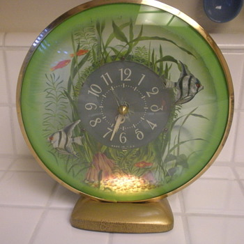 Angel fish Aquarium Clock - Clocks