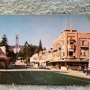 1973-old postcards- Nelson city- New Zealand.