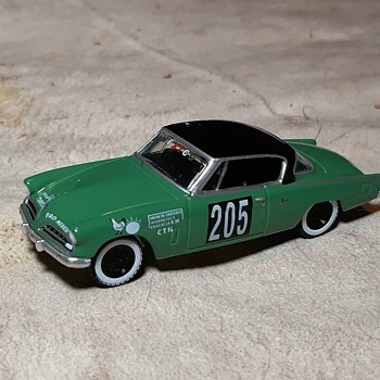 Greenlight 1953 Studebaker Commander La Carrera Panamericana  - Model Cars
