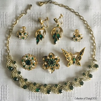 Greens — for Saint Patrick's Day - Costume Jewelry