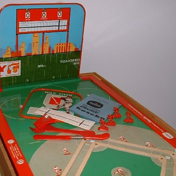 "1960s Tudor ""Tru•Action"" Electric Baseball Game - Baseball"