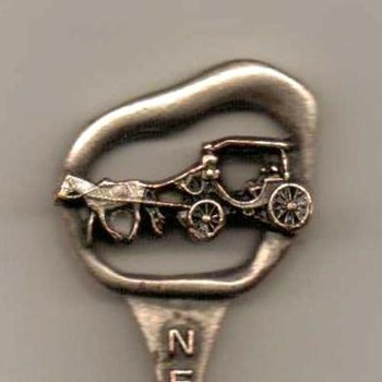 "Souvenir Spoon - ""New Orleans"" - Advertising"