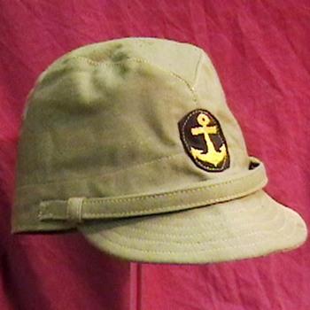 WW II Japanese Imperial Marine Cap