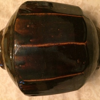 Mystery 12 Sided Stoneware Pot - Pottery