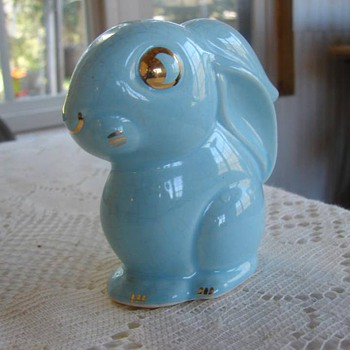 Cameron Clay Cottontail bunny - Animals