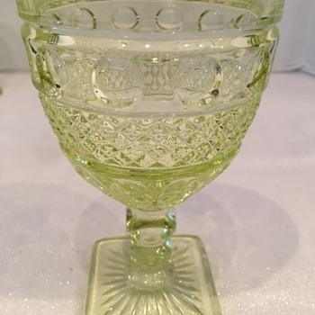 Not sure about pattern or maker  - Glassware