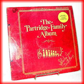 Partridge Family Album -- yes, still have...LOL ( and Single 45 Rpm Record ) - Records