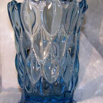 Blue Vase - Art Glass