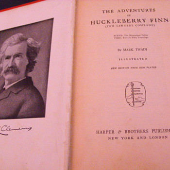 Book: The Adventures of Huckleberry Finn - Books