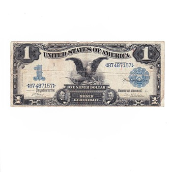 Silver Cretificate 1899 Valuation help - US Paper Money