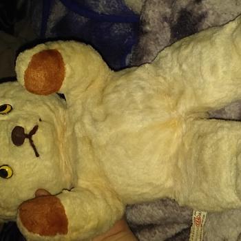 Bear found in attic please help identify - Dolls