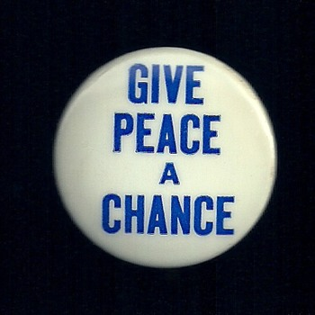 3 More Vietnam Protest Pinback Buttons