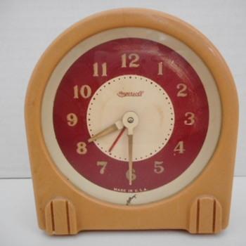 Ingersoll 1940's Bakelite Alarm - Clocks