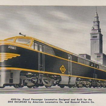 Erie & PRR Diesels