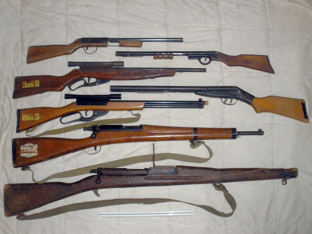 My Toy Gun Collection Rifles And Shot Guns Paris And