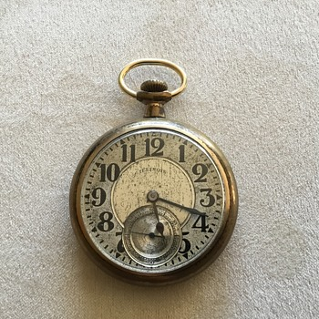 Illinois Pocket Watch from the late 1800's - Pocket Watches