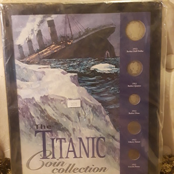 the TITANIC COIN COLLECTION!!! - US Coins