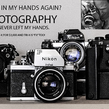 "Nikon ""Pure Photography"" ~ It NEVER left my hands!"