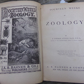 1876 Zoology  - Books