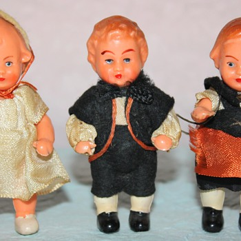 Family of 3 HP dolls - Dolls