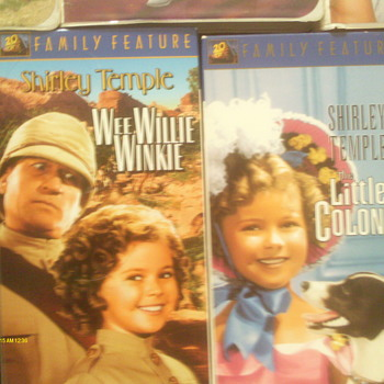 Two Shirley Temple Movies Called Wee Willie Winkie  & The Little Colonel