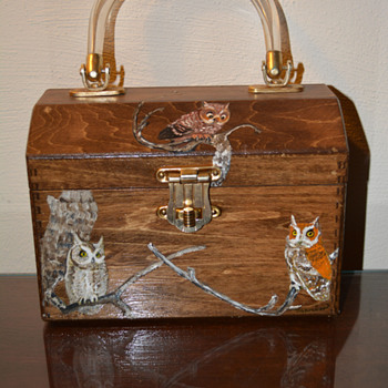 Wooden Folk Art Handbag/Purse-(Part 1) - Folk Art