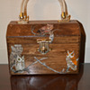 Wooden Folk Art Handbag/Purse-(Part 1)