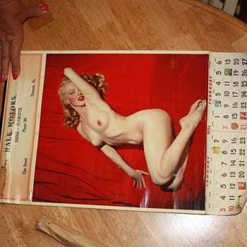 1954 calendar  - Advertising