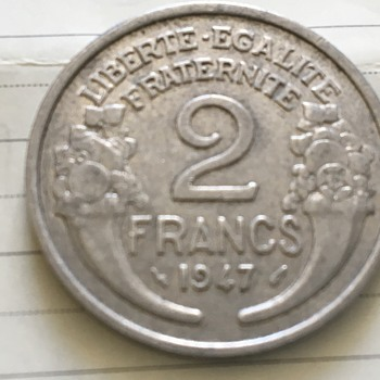 French coin  - World Coins