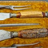 Unmarked carving set