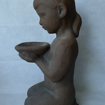 Unknown Danish Sculpture - Pottery