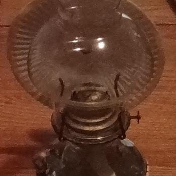 Glass oil lanps