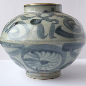 Late Yuan or Early Ming Dynasty Jar - Asian