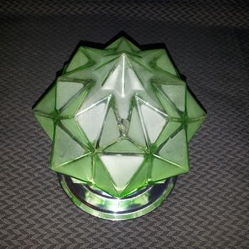 Star shade globe - Art Glass