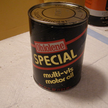OHIOLENE SPECIAL OIL CAN - Petroliana