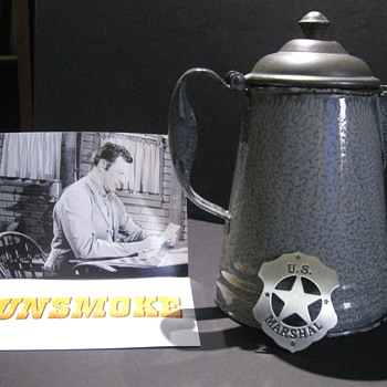 'Gunsmoke' - Marshal's Office Coffeepot - Movies