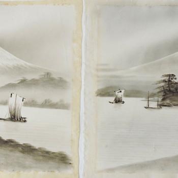 Unknown mystery Japanese Artist signature - Fine Art