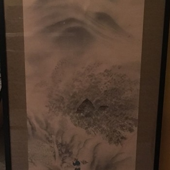 Japenese scroll  - Asian