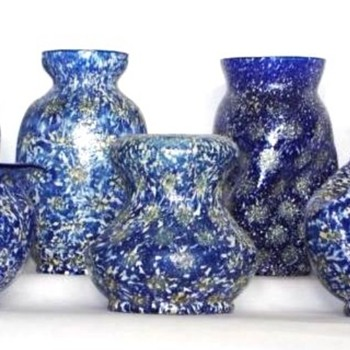 Dugan Art Glass: Pompeian, Venetian - Art Glass