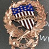 "Gold Badge/Medal ""Captain N.A. Briggs Jan. 1891"""