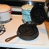 Antique Cast Iron Waffle Iron