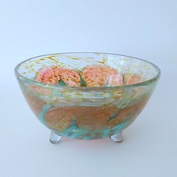 "WMF Ikora: bowl with three feet ""Unica"" - Art Deco"