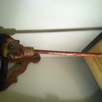 Wooden punch puppet